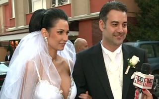 Nicoleta Luciu s-a căsătorit cu Zsolt Csergo - FOTO