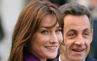 Carla Bruni nu-şi mai alăptează fiica din cauza alegerilor