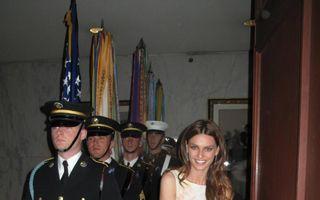 FOTO. Catrinel Menghia, invitată la Casa Albă