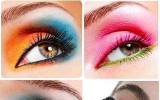 Frumuseţea ta: Cum să te machiezi cu farduri în culori neon, ca să arăţi beton