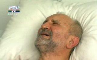 Şerban Ionescu a fost internat la spitalul SRI