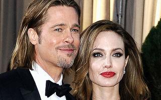 Angelina Jolie şi Brad Pitt, căsătorie cu repetitie - FOTO