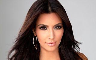 Kim Kardashian, cadou sexy pentru fani - FOTO