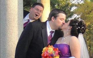 FOTO: Imagini hilare de la nunţi