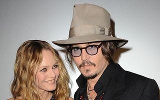Johnny Depp şi Vanessa Paradis s-au despărţit