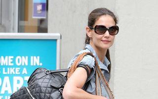 Katie Holmes s-a mutat într-un apartament de lux după despărţirea de Tom Cruise