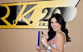 Ellie White, premiată de un post de radio din Madrid!