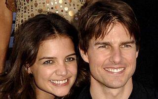 Katie Holmes şi Tom Cruise, acord de pace