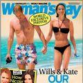 Prinți pe plajă: William și Kate, poze inedite din luna de miere
