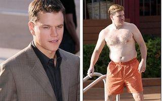 Hollywood: Top 5 actori sexy care au fost graşi. Vezi cum arătau!