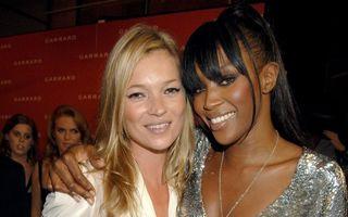 Kate Moss și Naomi Campbell închid Jocurile Olimpice