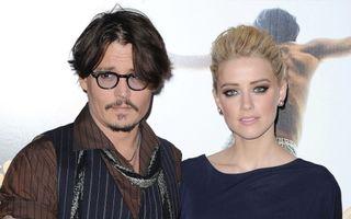Johnny Depp, cu buza umflată: Noua iubită a luat o pauză de gândire