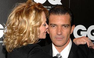 Antonio Banderas şi Melanie Griffith, la un pas de divorţ