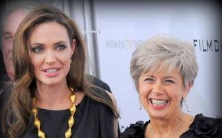 Angelina Jolie este supărată pe mama lui Brad Pitt