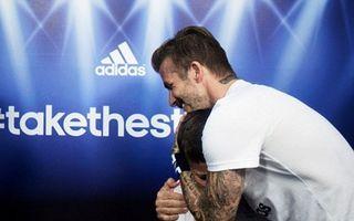 Beckham a făcut un copil să plângă
