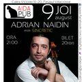 """Adrian Naidin cântă """"SIN-CRETIC"""", joi, la Aida Pub din Bucureşti"""