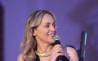 Sharon Stone a început filmările la Bucureşti