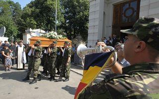 Mihaela Ursuleasa, înmormântată cu onoruri militare - FOTO