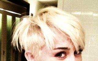 Hannah Montana se pregăteşte de nuntă cu un look emo