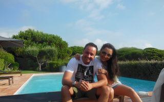 Andra şi Măruţă, vacanţă la Saint Tropez