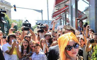 Lady Gaga a ajuns în București
