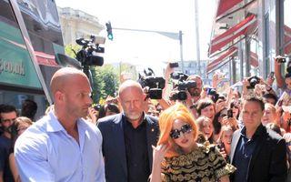 Concertul Lady Gaga: Scenă de 3.000 de metri pătraţi