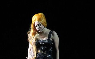 Lady Gaga la Bucureşti, show gotic incendiar