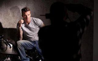 Cum lucrează fotomodelul David Beckham