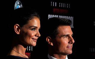 Katie Holmes va primi 400.000 de dolari pe an, în urma divorţului de Tom Cruise
