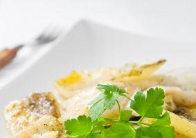 Şalău cu cartofi fierţi şi maioneză
