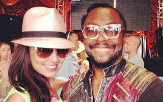 Cheryl Cole şi Will.i.am, imagine şocantă