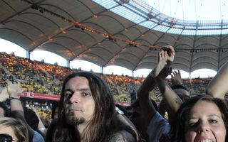 Red Hot Chili Peppers, sărbătoare pentru 45.000 de oameni