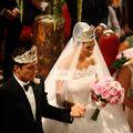 Nunta Elenei Băsescu: Cele mai frumoase imagini de la cununia religioasă