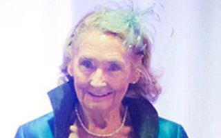 Model la 80 de ani: Povestea bunicii care defilează pe podium