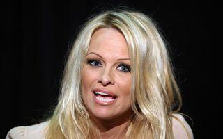 Pamela Anderson, fără machiaj