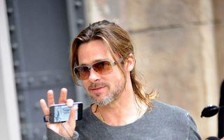 Brad Pitt confirmă nunta cu Angelina. Clooney va fi uşier!