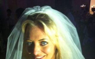 Delia, prima poză în rochia de mireasă - FOTO