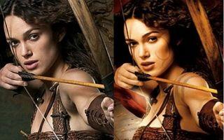Hollywood: 10 imagini cu vedete fotoşopate. Vezi cum arătau înainte şi după!