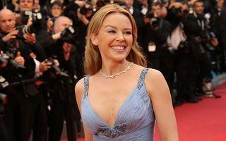 Kylie Minogue, aproape goală într-un nou videoclip - VIDEO