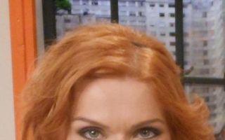 Cristina Cioran s-a făcut roșcată