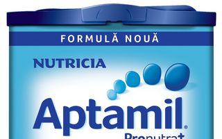 Noua formulă Nutricia Aptamil de la 1an+ testată de copiii din peste 500 de creşe