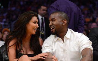 Kim Kardashian vrea să se mărite în secret cu Kanye West