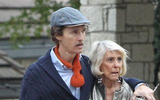 Matthew McConaughey, de nerecunoscut: a slăbit şi abia mai stă în picioare!