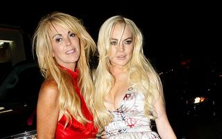Lindsay Lohan s-a bătut cu mama ei