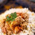 Pui vietnamez cu scorţişoară şi garnitură de orez