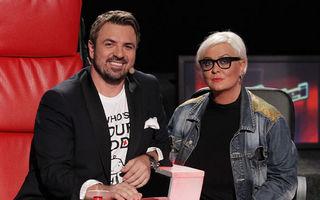 """Monica Anghel şi Minculescu, co-antrenori la """"Vocea României"""""""