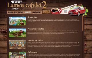 Mega-Concurs: Câştigă o Toyota Yaris pe eva.ro! NESCAFÉ lansează Lumea Cafelei 2