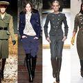 Modă: Haine sexy de inspiraţie militară. Vezi cum să le porţi!