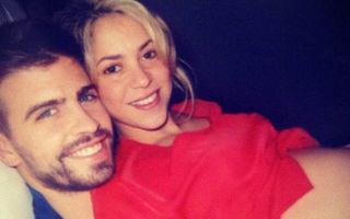 Shakira şi-a arătat burtica de gravidă