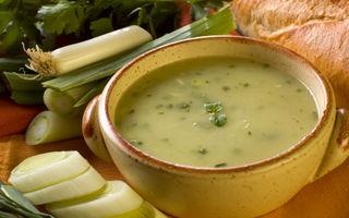 Supă cremă de fasole
